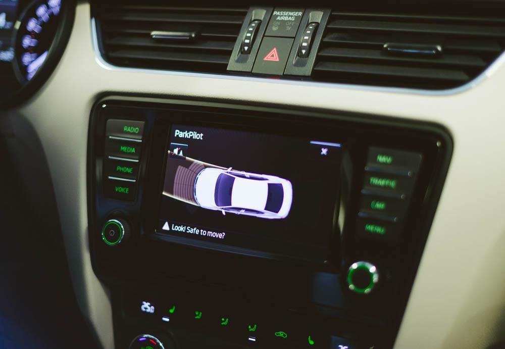 sensores de aparcamiento en madrid